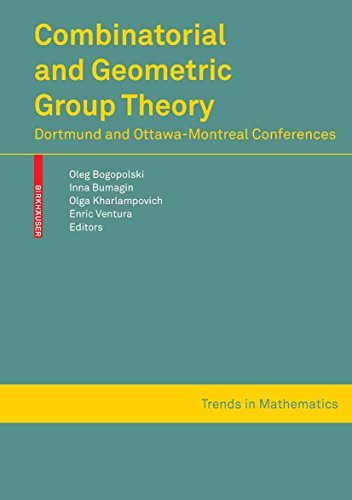 Combinatorial and Geometric Group Theory: Dortmund and Ottawa-Montreal conferences (Trends in Mathematics) (English Edition)