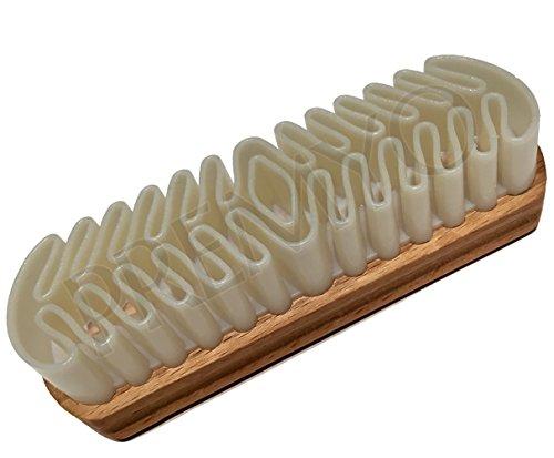 Ogquaton Daim nubuck daim cuir chaussures en cuir brosse forte propret/é portable et utile