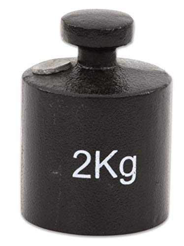 Betzold - Gussgewicht weiß beschriftet Gewicht für Waage, Balkenwaage, Apothekerwaage