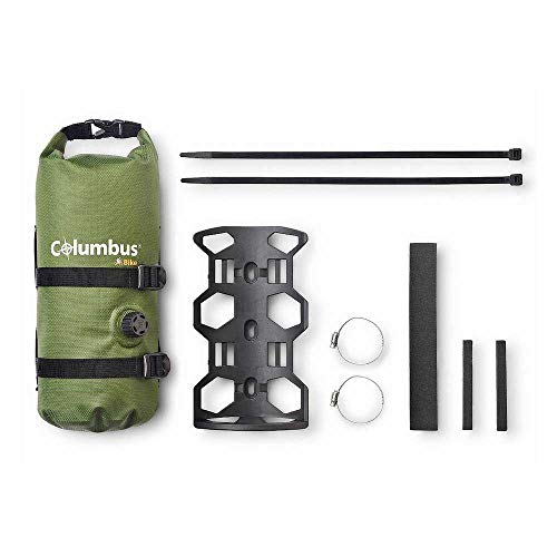 COLUMBUS- Fork Bag with Cage Green Borsa per Forcella