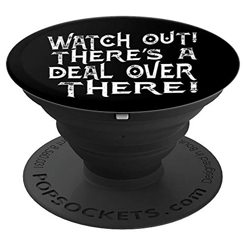 Black Friday Watch Out Deal PopSockets Grip and Stand for Phones and Tablets