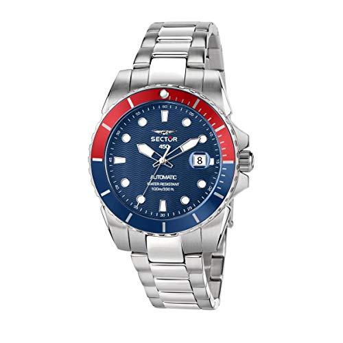 Sector No Limits Reloj para Hombre, Colección 450, en Acero, con Correa de Acero - R3223276001