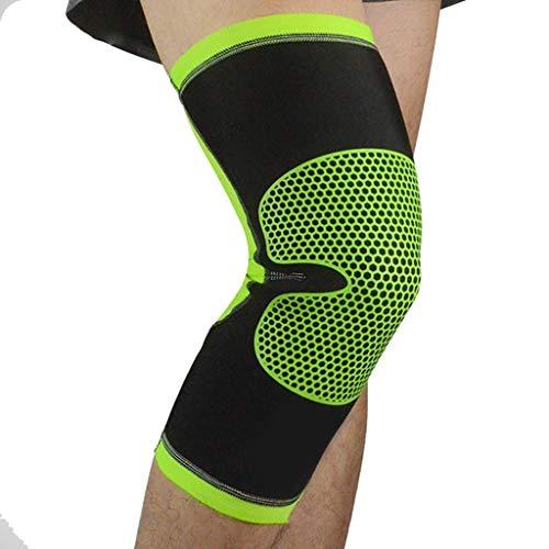 TTKD 1 par de rodilleras elásticas transpirables para bicicleta, rodilleras, para baloncesto, gimnasio (color : C, tamaño: XL)