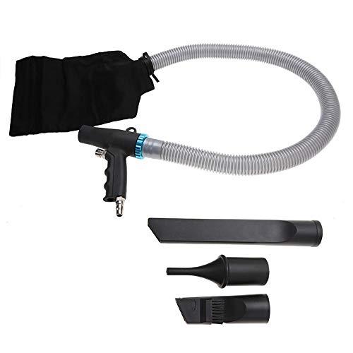 Pistola de compresor de Aire, compresor de pulverización de Aire a Alta presión Pistola de soplado succión Tipo de Pistola Herramienta de Limpieza neumática Fuerte Viento