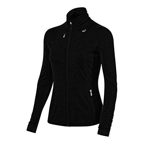 ASICS Damen Thermopolis Full Zip Jacke Medium Performance Black