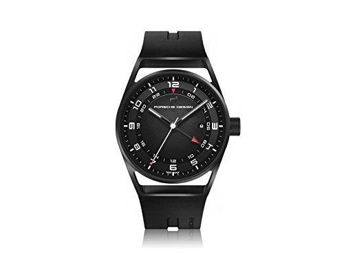 Porsche design 1919 globetimer Herren Uhr analog Automatik mit Kautschuk Armband 6020.2.02.001.06.2