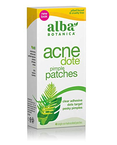 Alba Botanica Acnedote Pimple Patches, 40 Count (Packaging May Vary)