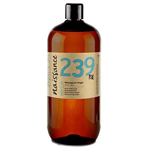 Naissance Huile Végétale de Germe de Blé Vierge (n° 239) - 1 litre - 100% pure et naturelle
