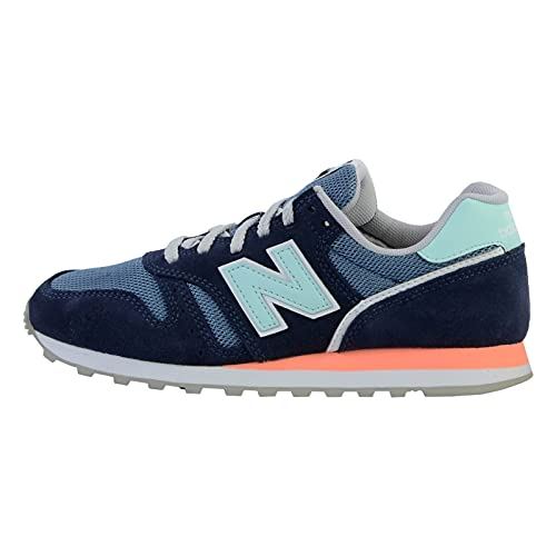 New Balance WL373CT2_36, Zapatillas Mujer, Azul Marino, EU