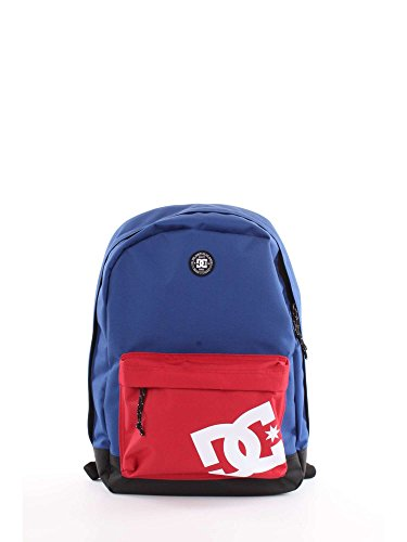 DC Shoes Backstack, Mochila Mediana para Hombre, Azul (Sodalite Blue/Solid), One size