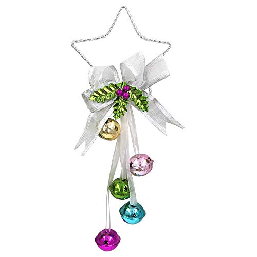 Adorno de árbol de Navidad,Campanas de Árbol de Navidad Navidad Pequeñas Campanaspara Decoración Campanas de Árbol de Navidad
