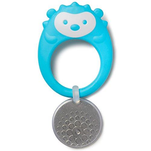 Mordedor Infantil (3m+) Porco Espinho - Skip Hop, Skip Hop, Azul Oceano