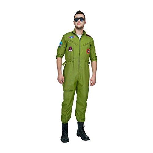 SEA HARE Costume da Aviatore Top Gun da Uomo