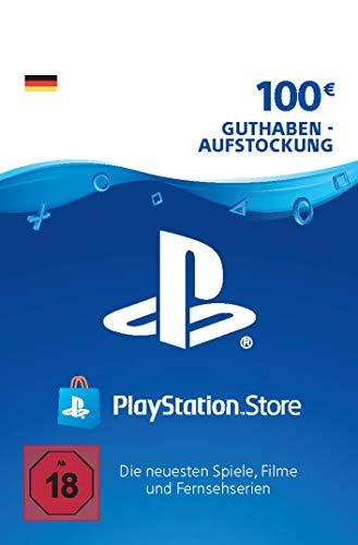 PSN Guthaben-Aufstockung | 100 EUR | deutsches Konto | PSN Download Code