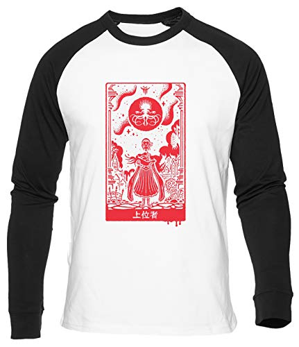 Überlegen Einsen Baseball T-Shirt Herren Damen Unisex Weiß Bio Baumwolle Men's Women's White