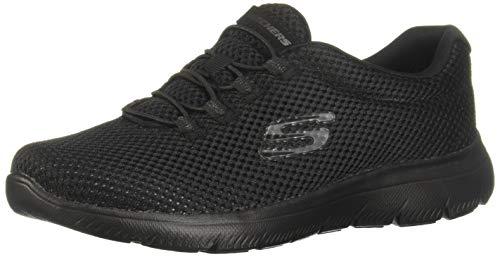 Skechers Summits, Zapatillas Mujer, Negro (BBK Black Mesh/Trim), 38 EU