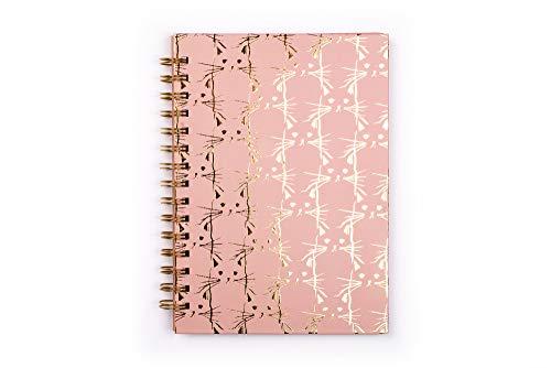 Perfecto para el dise/ño sketchpad Tri-Coastal Design cuaderno Espiral 20 x 30 x 2.5 cm Maxi cuaderno Espiral con hojas blancos y tapa R/ígida pintada
