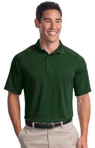 Sport-Tek® Dry Zone® Raglan Polo. T475 Forest Green L