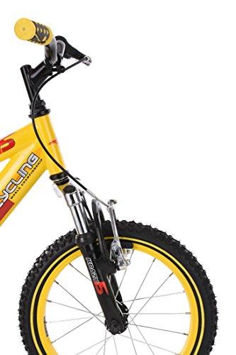 "KS Cycling Kinder Mountainbike 16"" Krazy Fahrrad, gelb - 7"