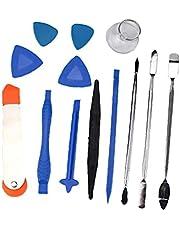 15 in 1 Professional Electronics Opening Pry Tool Kit with Metal spudger Repair Tool Kits voor verschillende smartphones en tabletten 1Set voor het dagelijks leven Hulpmiddelen