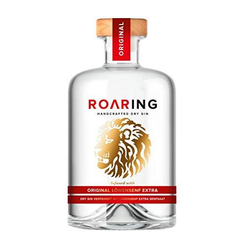 LÖWENSENF Roaring Gin, 500ml, Glasflasche, Handcrafted Dry Gin