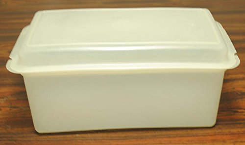 Vintage Tupperware clear Bread Loaf Keeper Storage Container (11.5' x 6')