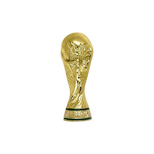 Am Ball, 30 mm Réplica de Copa del Mundial de FIFA 2018, Adultos Unisex, Gris