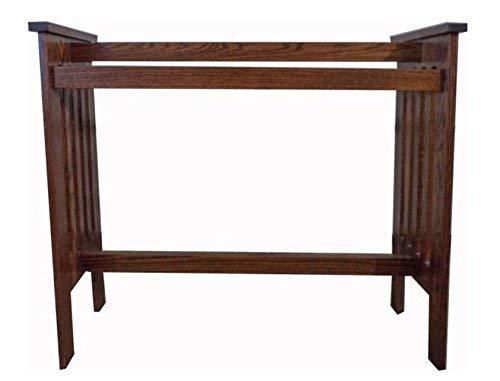 Allamishfurniture Mission Style Solid Hardwood Amish Oak Floor Rack
