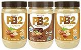 PB2 Powdered Peanut Butter Bundle (2 Peanut Butter And 1 Chocolate Peanut Butter)