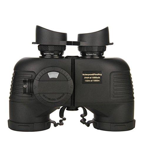SXZHSM groot uitzicht van 10x50 grote objectief lens BAK4, met verrekijker harnas, waterdichte telescoop telescoop