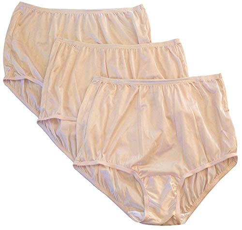 Vanity Fair Classic Ravissant Tailored Brief - Pack of 3 -, Fawn Multi, Size 8