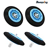 DC97-16782A Dryer Drum Roller with Update Bearings by Beaquicy - Replacement for Samsung Dryer-4 PACK