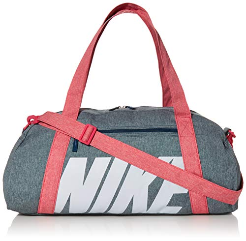 NIKE W Nk Gym Club Bolsa Lona de Deporte, Mujer, Valerian Blue/Watermelon/(Football Grey), MISC