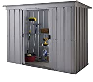 Yardmaster 10 x 4 PZ Pent Metal Garden Shed - Assembly Service Available