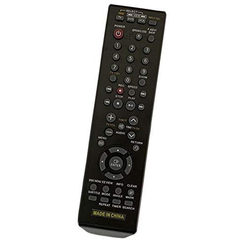 Calvas NEW Remote Control For Samsung DVD-VR375 DVD-VR375A DVD VCR...