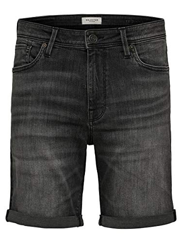 SELECTED HOMME Herren Jeansshorts Superstretch XLGrey