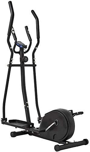 Ellipsentrainer Ellipsentrainer für den Heimgebrauch Life Fitness Bike Magnetwiderstand Hochleistungs-Extra-Großpedal & LCD-Monitor Leise LaufruheMaschine1121