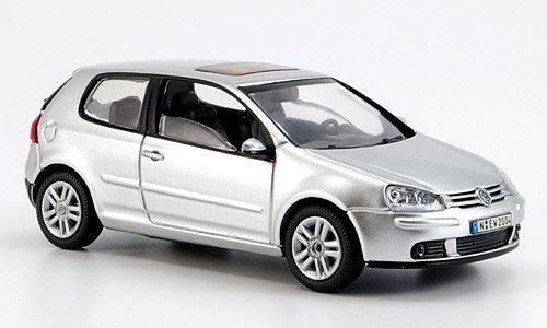 VW Golf V, silber, 3-türig, 2003, Modellauto, Schuco 1:43