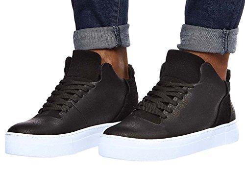 Leif Nelson Zapatillas para Hombre de Deporte Zapatos LN-152 Negro 41 EU