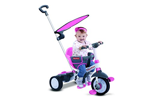 Fisher Price - Fp3250233 - Tricycle - Charm Plus - 3 en 1 - Rose