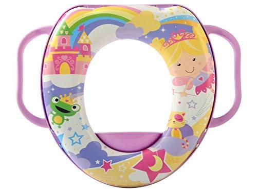 Lulabi Fairy Tales, Riduttore WC Soft, con Maniglie, 12+ mesi, Multicolore