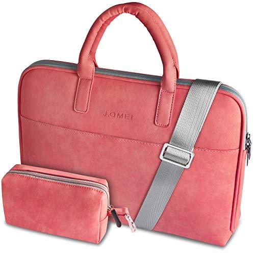 BOTRE 14-15,6 Zoll Laptoptasche Wasserdicht Multifunktionale Laptop Tasche Notebooktasche Business Aktentasche Tragetasche Laptop Sleeve (Rot 02, 15.6 Zoll)