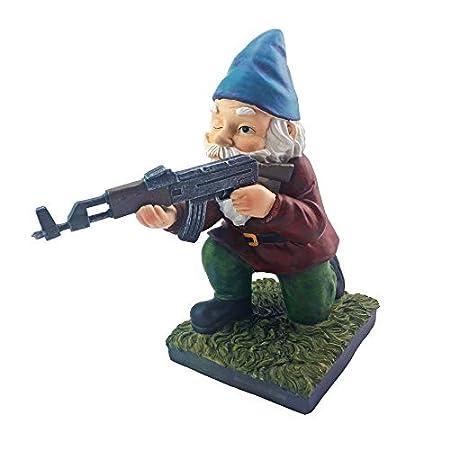 Military Garden Gnome