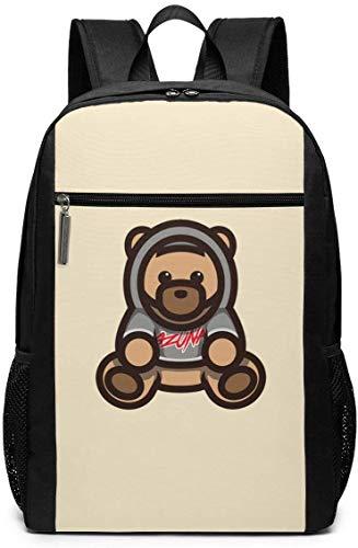 Mochila Mochila de Viaje Ozuna Bear Logo Backpack Laptop Backpack School Bag Travel Backpack 17 Inch