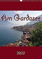 Am Gardasee (Wandkalender 2022 DIN A3 hoch): Impressionen vom Gardasee (Monatskalender, 14 Seiten )