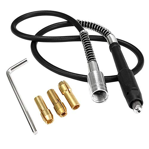 iFCOW 107 cm/42 cavo di prolunga flessibile con 3 mandrini adatto per trapano elettrico