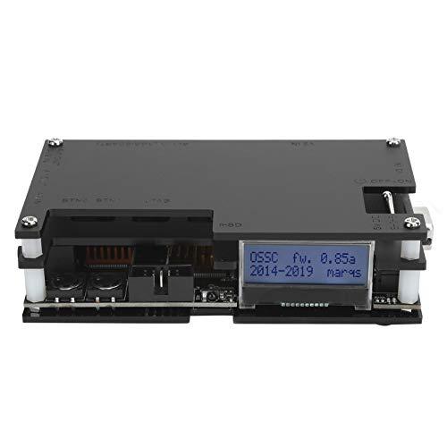 Sren Convertidor de Video para Consola de Juegos, Adaptador de Video para Consola de Juegos Retro, convertidor de Consola de Juegos con Interruptor HDMI, para Monitor de PC Atari Jaguar Atari
