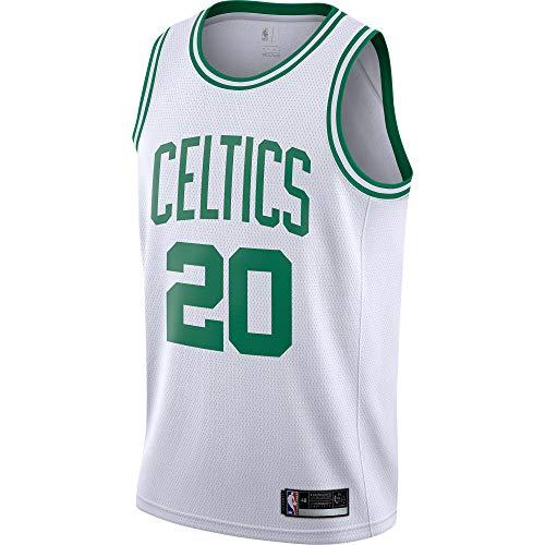 Gordon Hayward Boston Celtics #20 Official Youth 8-20 Swingman Jersey (Large, Gordon Hayward Boston Celtics White Association Edition)