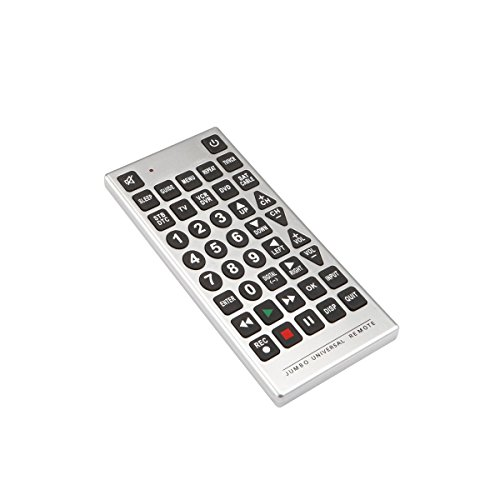 WW Products Jumbo Remote Control for TV, VCR, DVD, Satellite, Cable and More. Never Loose a Remote Again