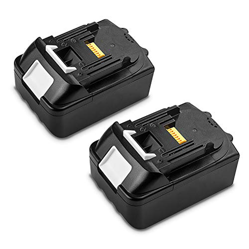 [2Pack] 18V Replacement Battery for Makita BL1850 BL1815 BL1830 BL1835 BL1840 BL1860 LXT400 194204-5 194205-3 194230-4 194309-1